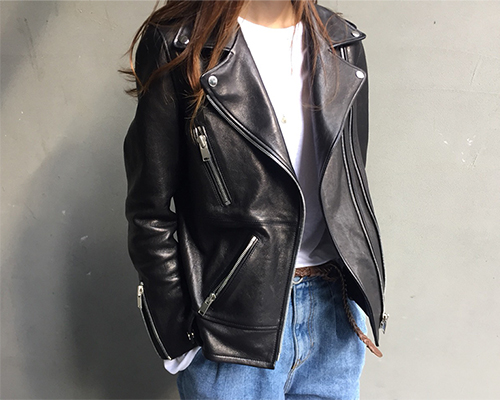 16f/w - 02. real leather jacket(no.2)
