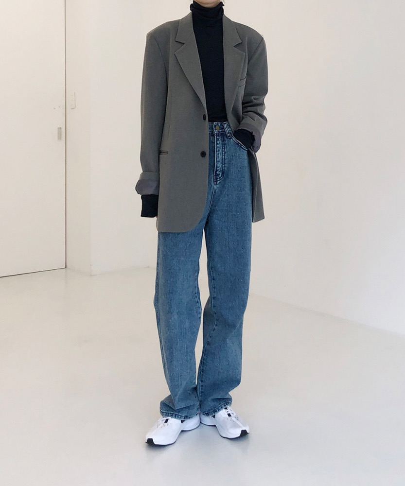 Loosefit long denim