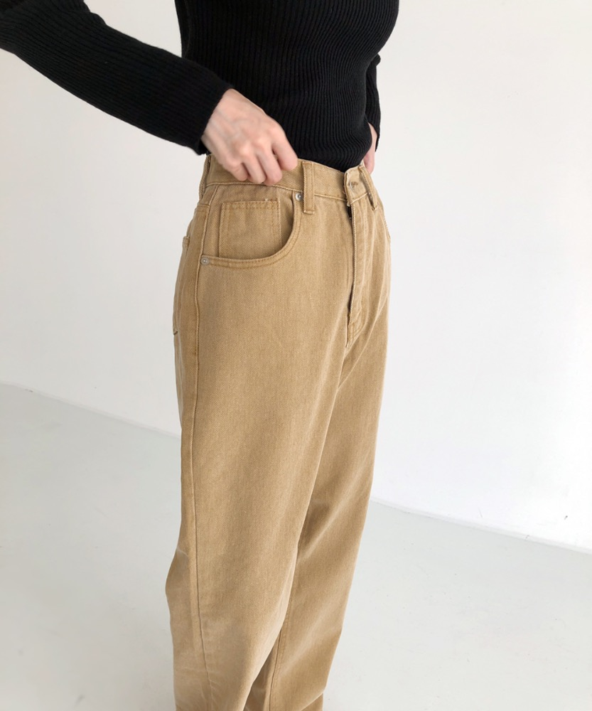 Autumn color pants