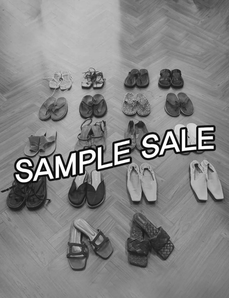 SHOES SAMPLE SALE [SEASON OFF 2]