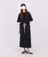 17S/S - 04. POCKET SKIRT [BLACK]  -  2nd REORDER