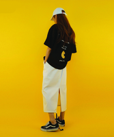 17S/S - 04. POCKET SKIRT [WHITE]  -  2nd REORDER