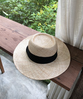 bow panama hat